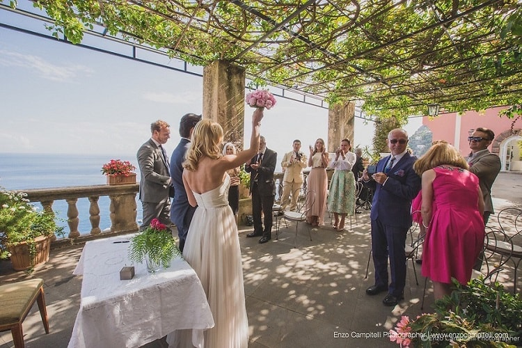 1 Villa Magia Wedding Planner in Amalfi Coast and Puglia. Mr and Mrs Wedding in Italy