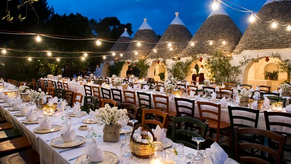 Trulli Wedding Location in Puglia, Italy