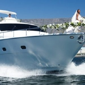 Wedding on board. Wedding Planner in Amalfi Coast and Puglia. Mr and Mrs Wedding in Italy