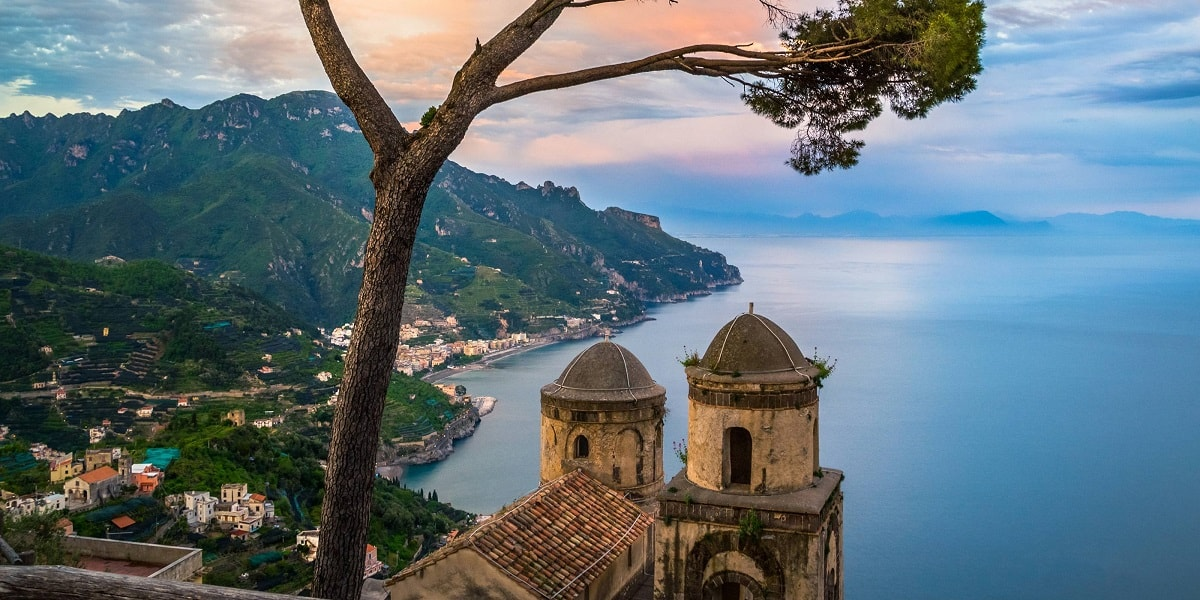 Ravello Mr And Mrs Wedding In Italy