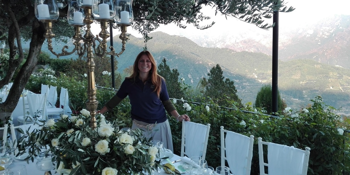 Ines Napolitano. Wedding Planner in Amalfi Coast and Puglia. Mr and Mrs Wedding in Italy