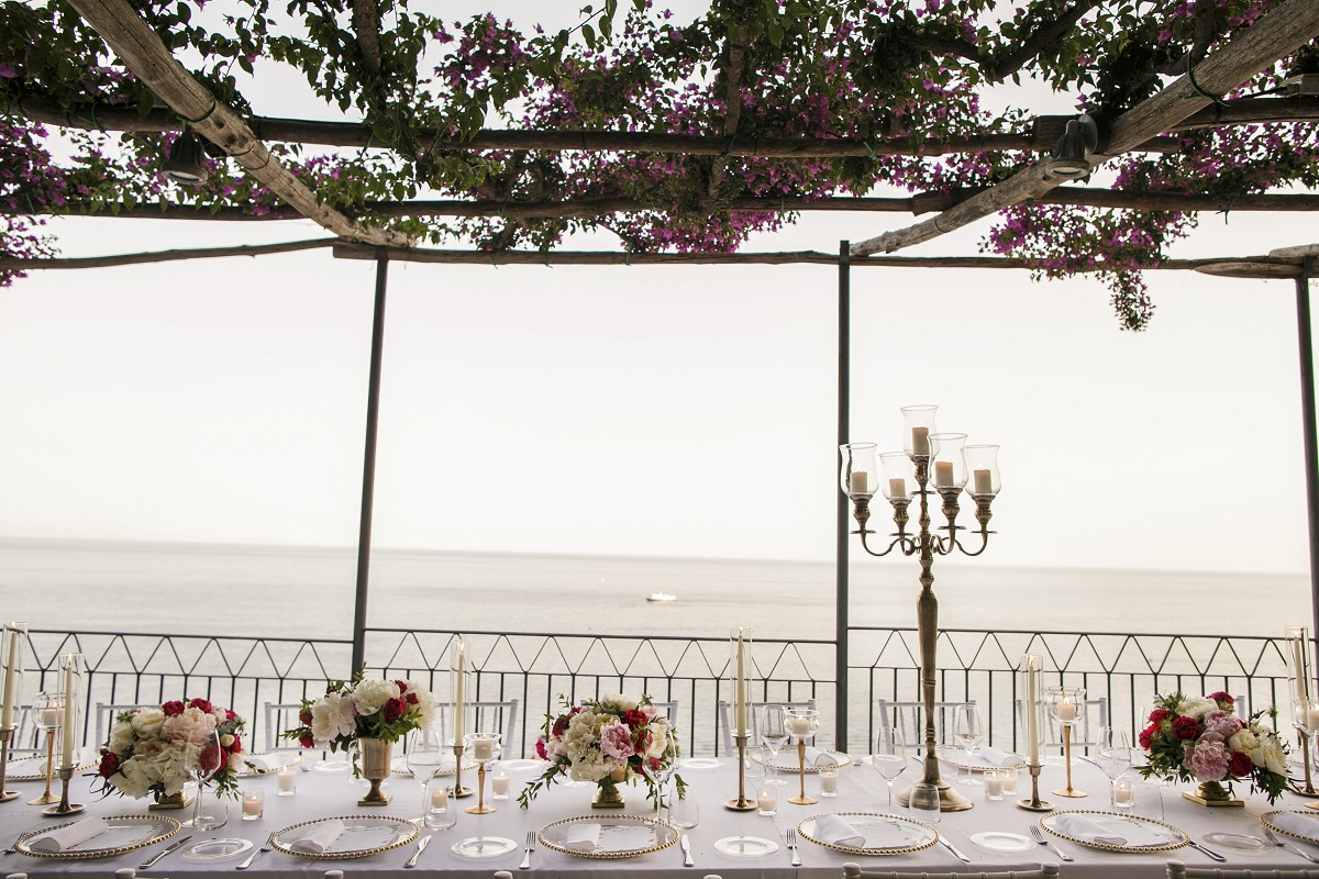 Isabella and Peter Wedding in Amalfi the landscape