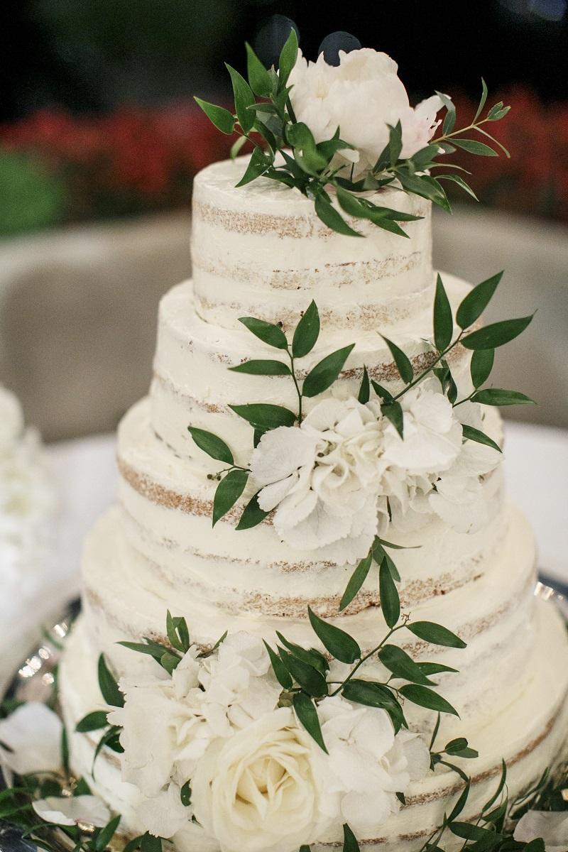 Isabella and Peter Wedding in Amalfi wedding cake