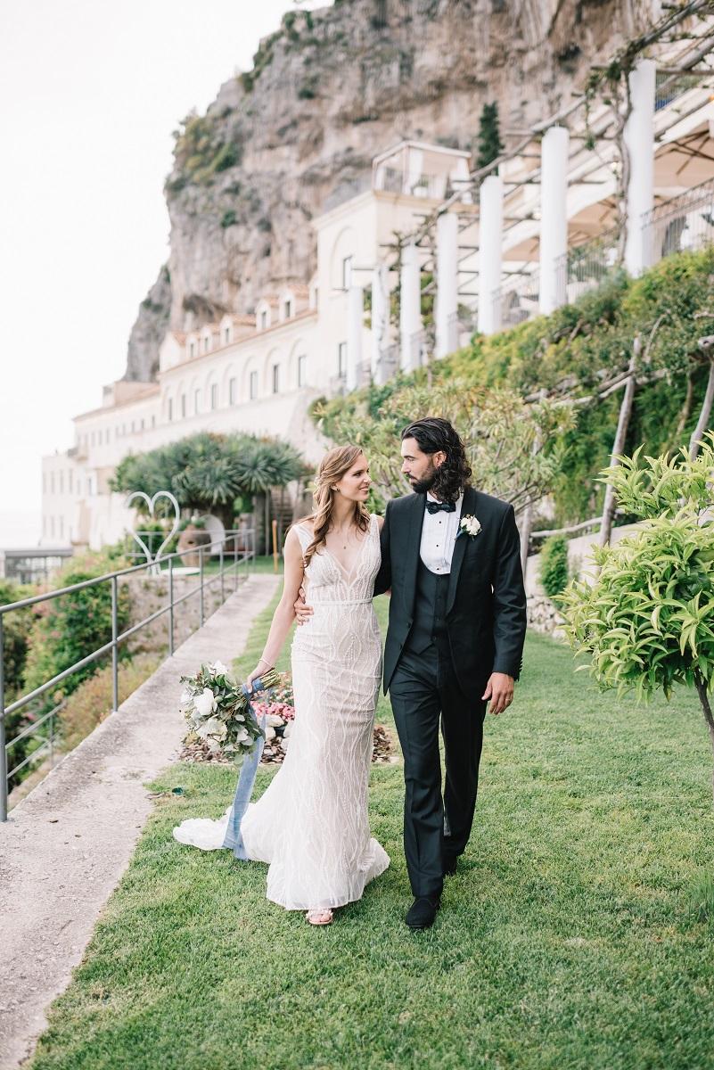 Peter and Kristan Wedding in Amalfi NH Grand Hotel (14)