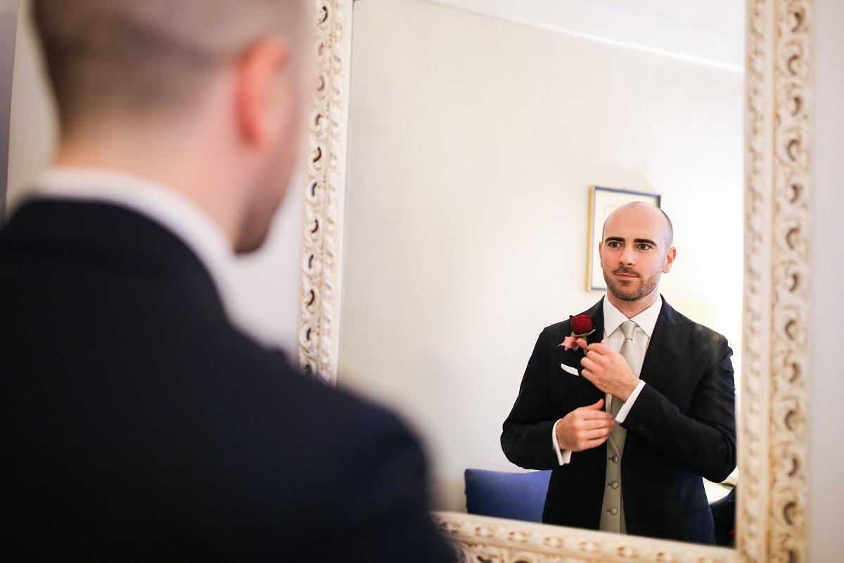 Andrea the groom - Ravello wedding