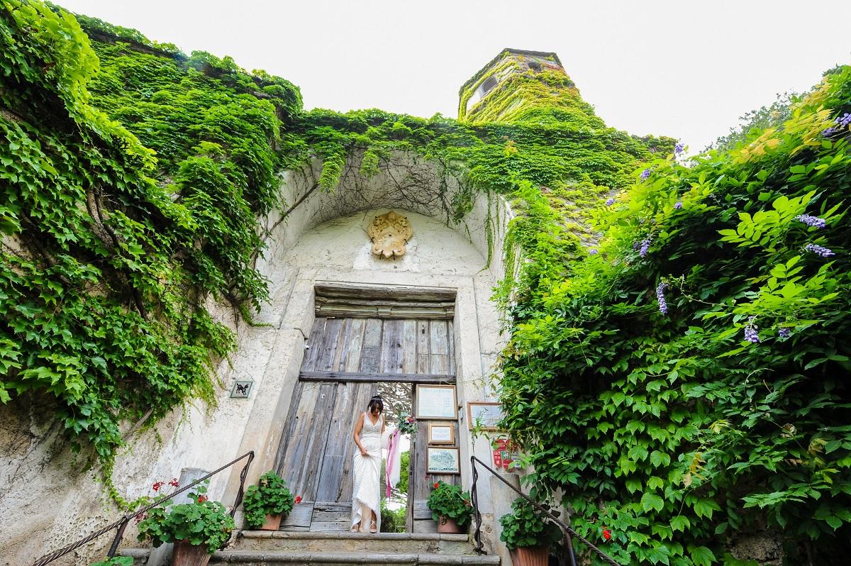 The bride - Daniela and Andrea - Ravello wedding