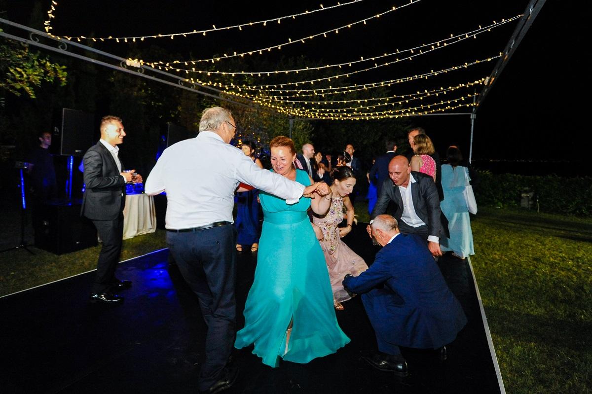dancing till midnight Daniela and Andrea Ravello wedding