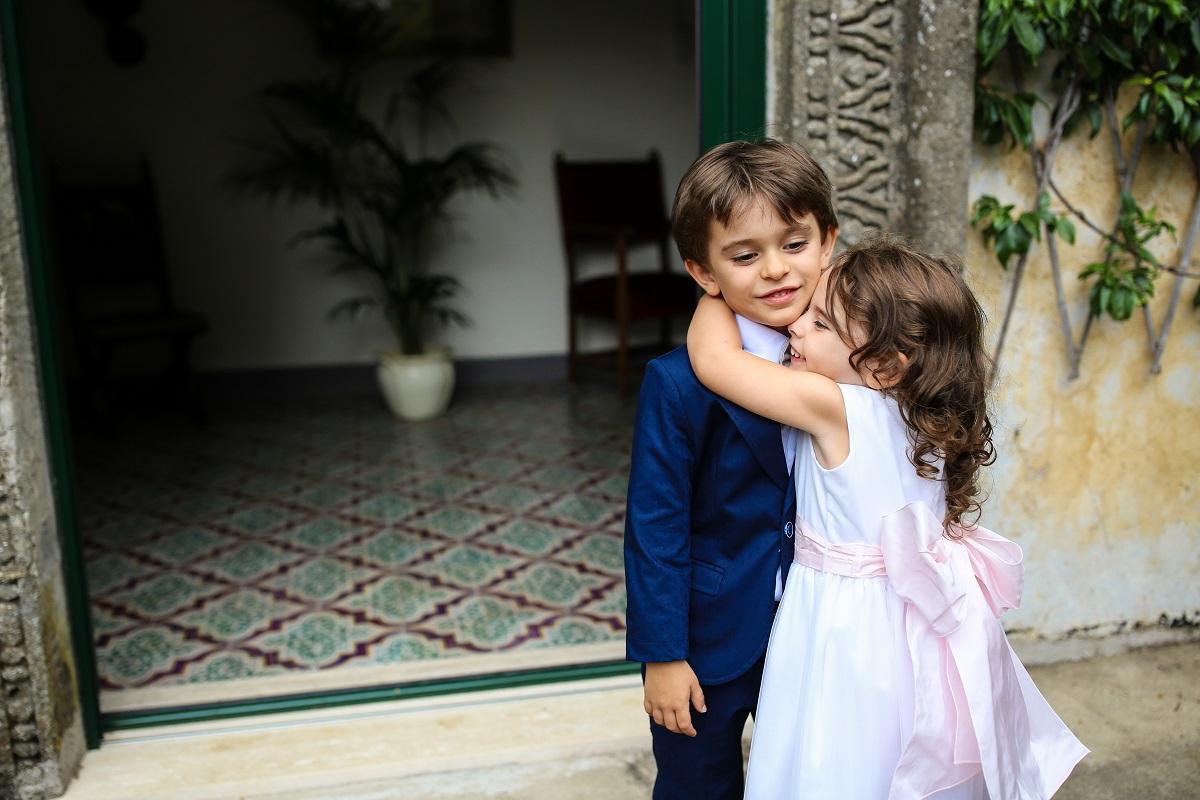 the children - Daniela and Andrea - Ravello wedding
