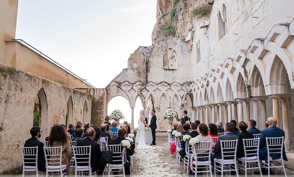 NH Amalfi Chiostro wedding