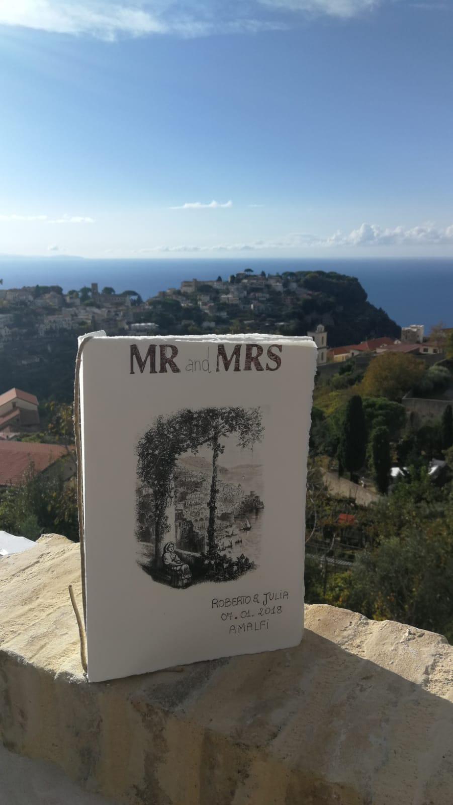wedding in Amalfi details