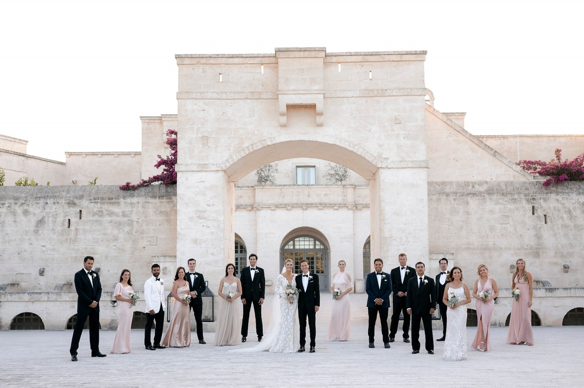 Wedding in Italy during the pandemic