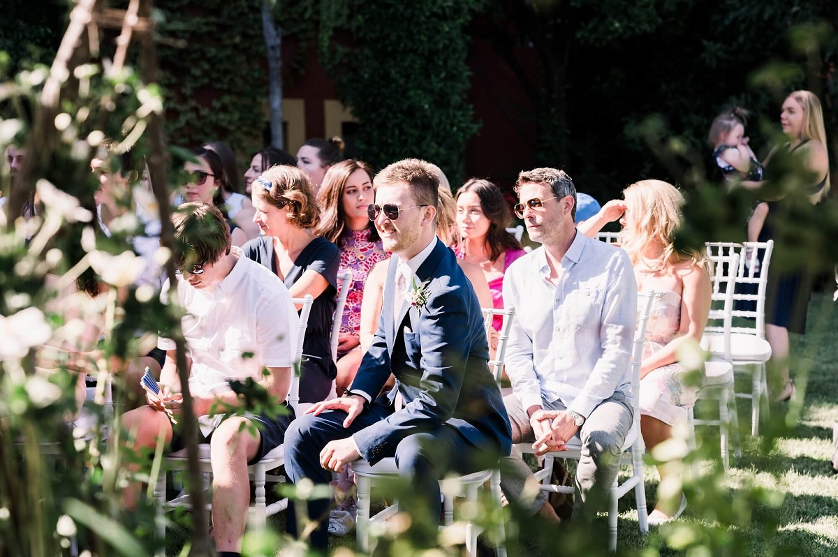 outdoor wedding in Italy during the covid emergency