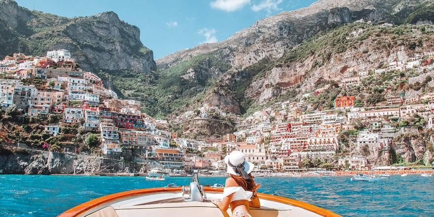 Boat tour on the Amalfi Coast