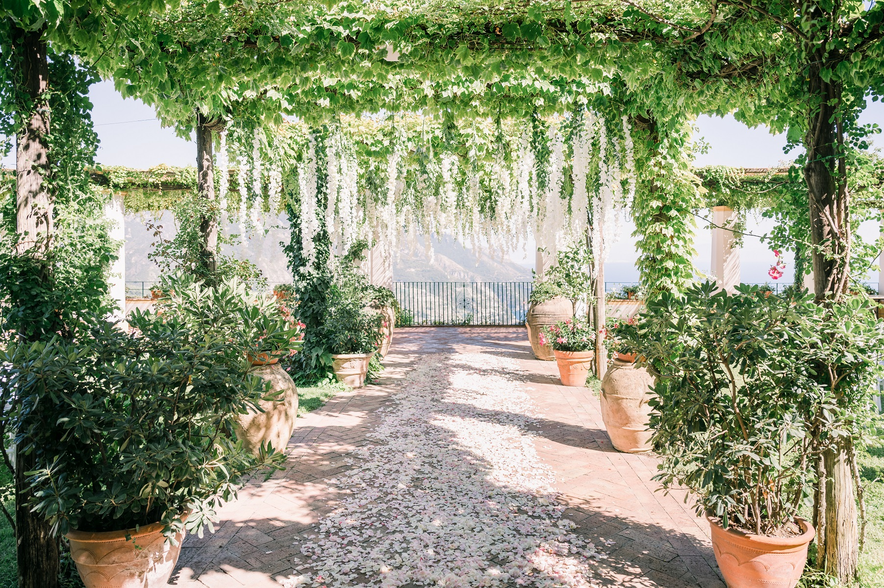 Holly and Ben married in Maiori Amalfi Coast Italy - the venue