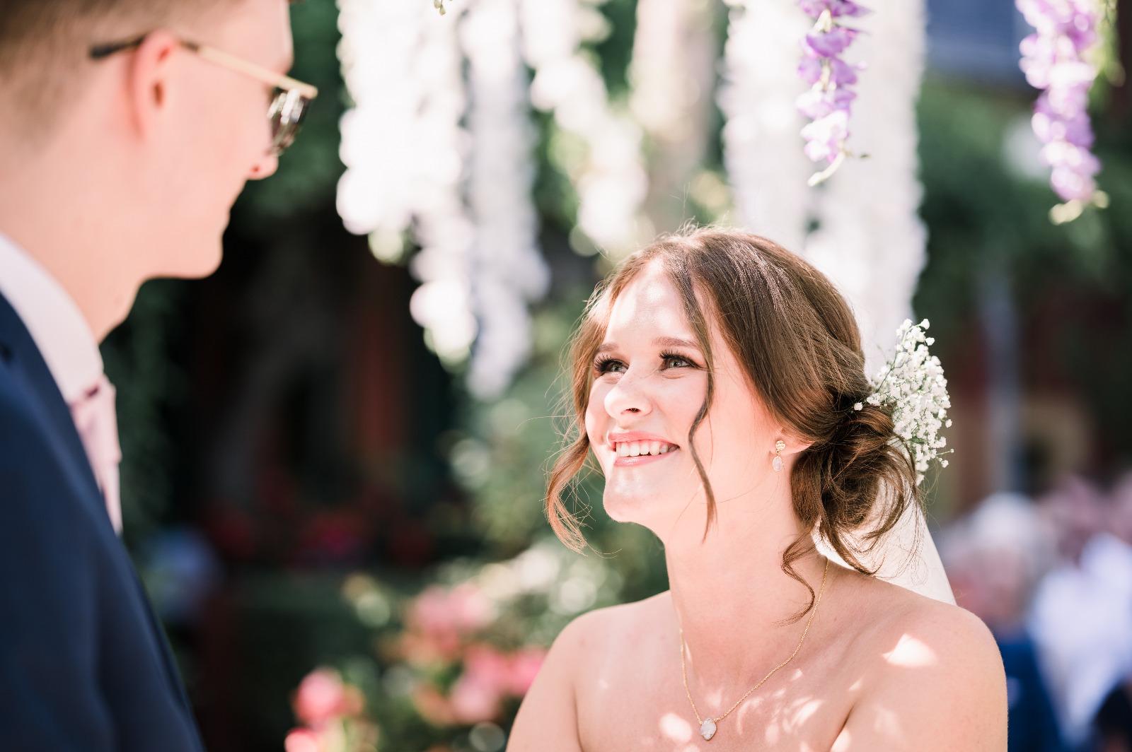 Holly our wonderful bride