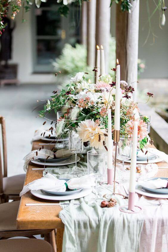 Easter lunch setting idea inspiration