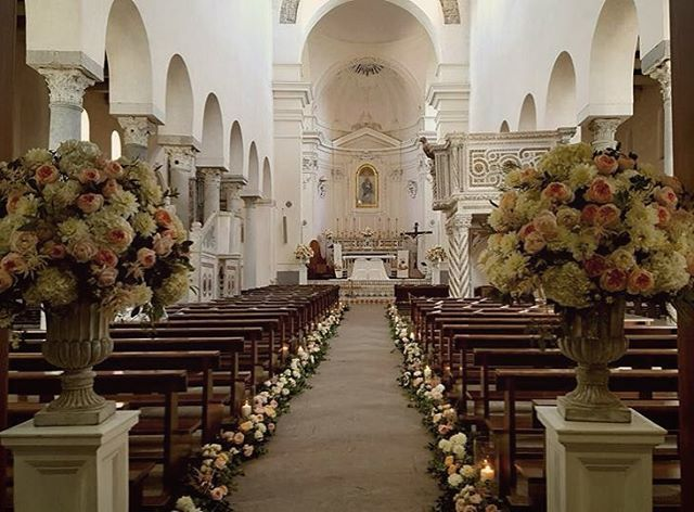 Interior of Ravello cathedral