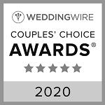 WeddingWire badge wedding awards