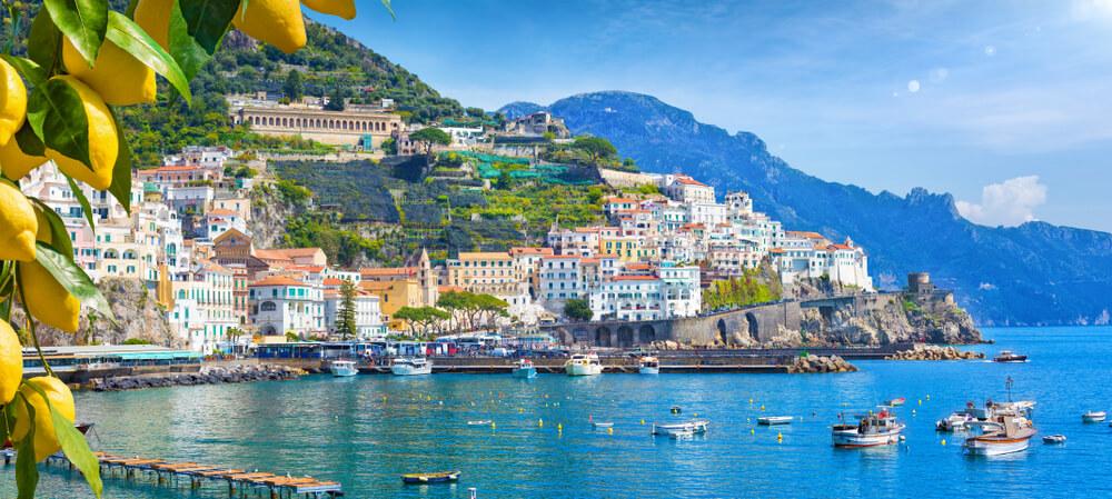 Amalfi Coast - Mr and Mrs wedding in Italy