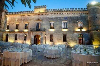 Castle wedding Mr and Mrs Wedding in Italy