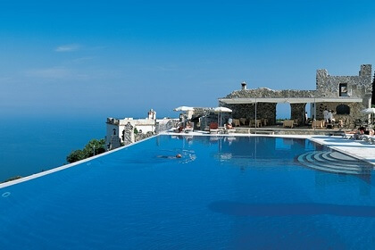 Luxury hotels on the Amalfi Coast Mr and mrs wedding in Italy