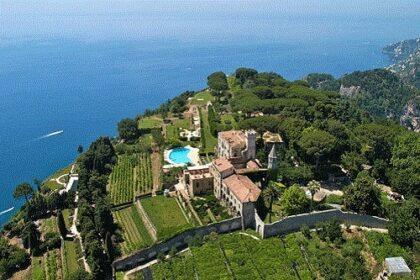 Villa Cimbrone Mr and Mrs Wedding in Italy Amalfi Coast Wedding Planner