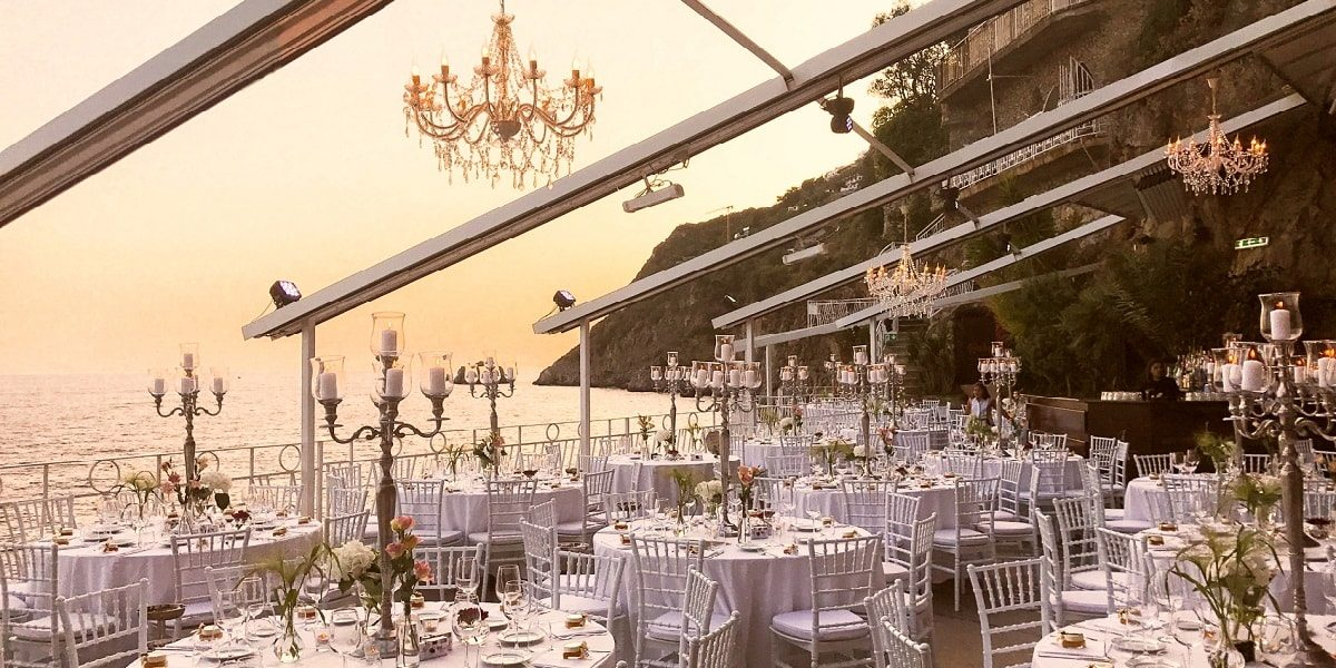 Africana Famous Club Praiano Amalfi Coast - Mr and Mrs Wedding in Italy