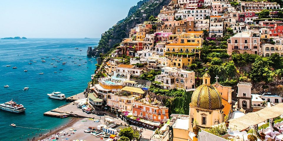 Positano Amalfi Coast - Mr and Mrs Wedding in Italy