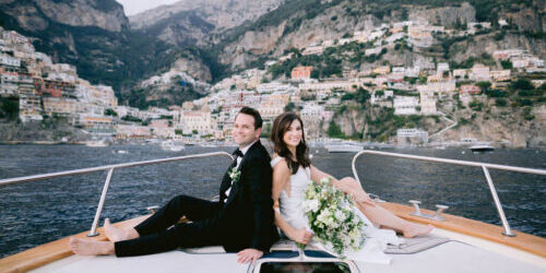 Elopement in Italy - Mr and Mrs Wedding in Italy Amalfi Coast