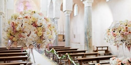 Religious ceremony on the Amalfi Coast and Puglia - Mr and mrs wedding in Italy