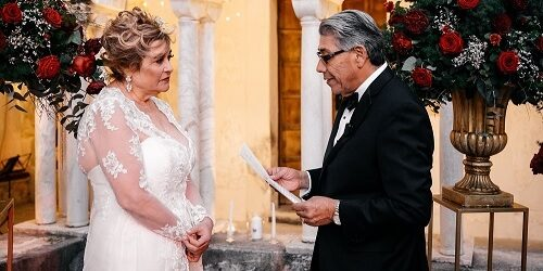 Renewal of vows on the Amalfi Coast Italy - Mr and Mrs weddding in Italy