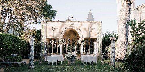 Symbolic wedding in Italy - Wedding Planner Amalfi Coast and Puglia - Mr and Mrs Wedding in Italy