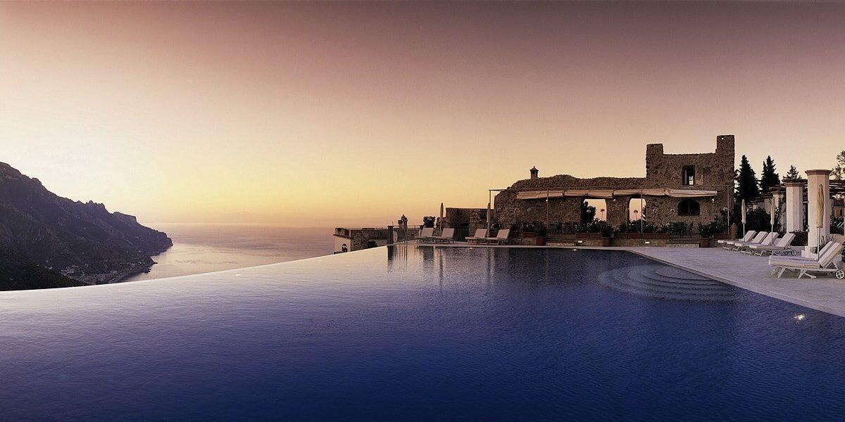Hotel Caruso. Ravello. Wedding Planner in Amalfi Coast and Puglia. Mr and Mrs Wedding in Italy