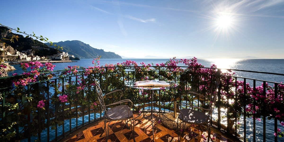 Five-star Hotel Santa Caterina in Amalfi - Mr and Mrs Wedding in Italy